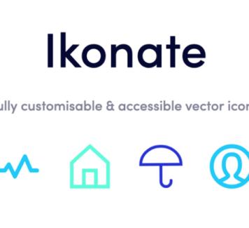 Ikonate: бесплатный набор из 230+ иконок SVG