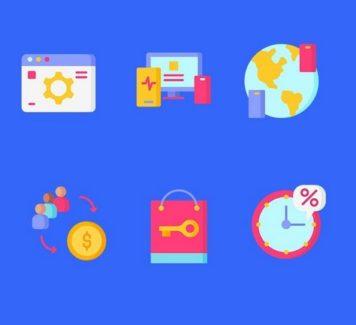 Иконки для онлайн-маркетинга