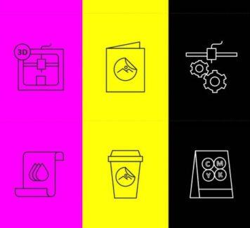 Векторные иконки Printshop
