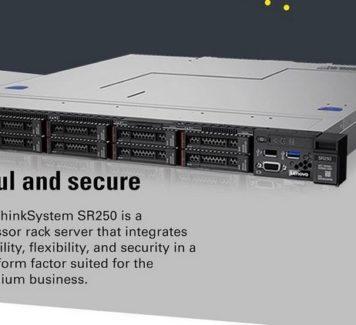 Сервер Lenovo ThinkSystem SR250: сила притяжения