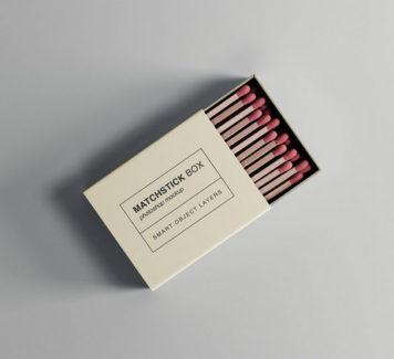 Макет спичечной коробки