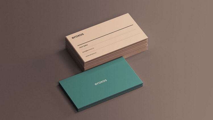 Classic Business Cards Mockup