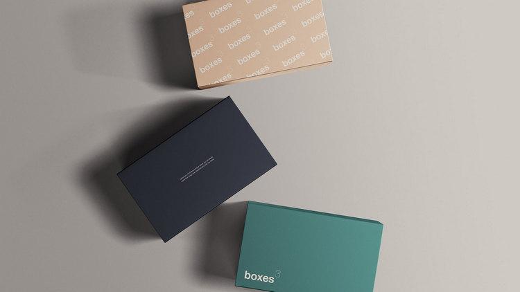 Макет упаковочных коробок
