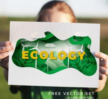 Векторный эко-концепт