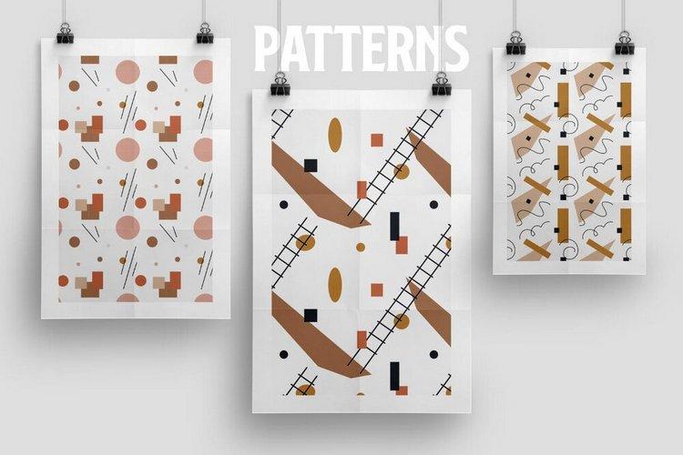 Набор абстрактных шаблонов