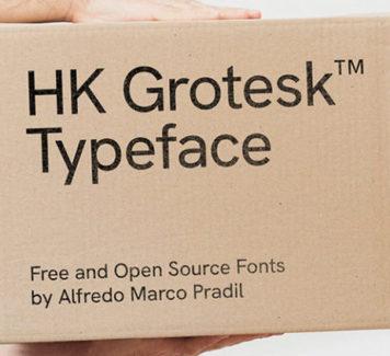 HK Grotesk: шрифт в 14 стилях