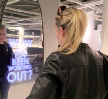 Комплименты от зеркала в IKEA