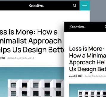 Kreative: бесплатный HTML-шаблон для агентств