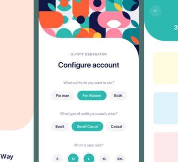 Outfitr: набор пользовательского интерфейса для модных приложений