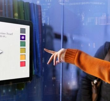 Волшебство интерактивных рекламных витрин
