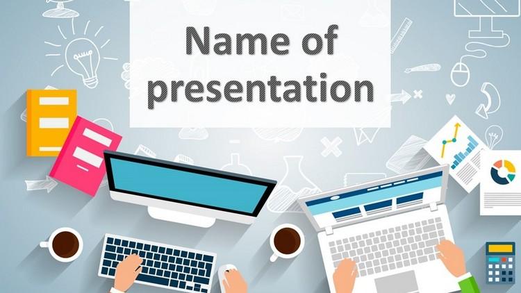 шаблон презентации PowerPoint