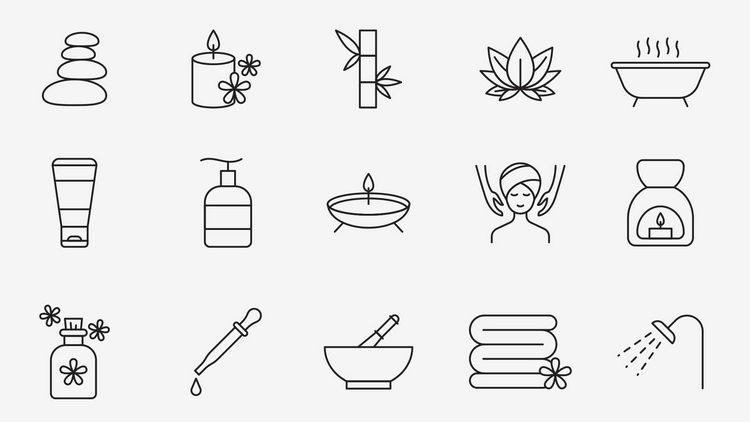 20 векторных иконок SPA