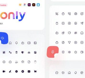 Iconly 2: 600 значков первой необходимости